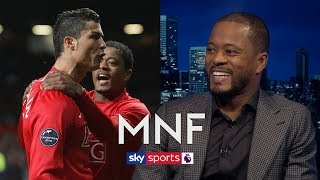 Patrice Evra picks incredible Ultimate XI of players he has played with | MNF