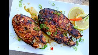 The Ultimate Grilled Salmon #JulyMonthOfGrilling   CaribbeanPot.com