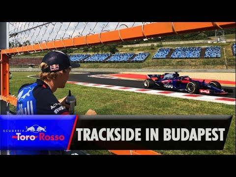 Trackside With Toro Rosso