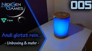 Unboxing und Test / Taotronics Nachttischlampe / TT-DL033 / LED Farbwechsel (1080p/FullHD) / deutsch