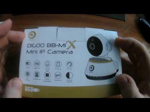 Digoo DG-M1X Security IP Camera - UNBOXING (by Banggood)