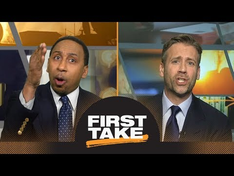 Stephen A. goes off on Max during debate about LeBron James joining 76ers | First Take | ESPN