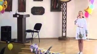Пісня серця 2015 2 вікова категорія част. 3 Ставнича Олександра