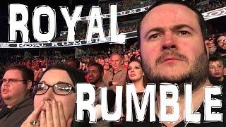 WWE ROYAL RUMBLE MATCH 2016  LIVE REACTION