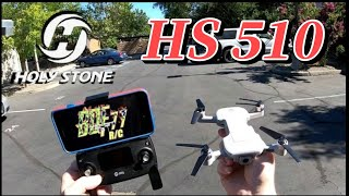 HolyStone HS510 GPS 4k 5g WiFi FPV Brushless Drone | Flight & Camera Test