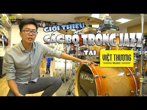 Giới thiệu các bộ trống jazz tại Việt Thương Music | Pearl và Odery