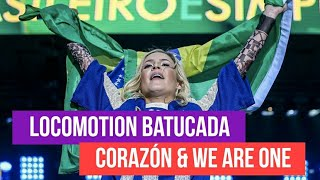 Claudia Leitte - Locomotion Batucada, Corazón & We Are One - BR Day NY 2017