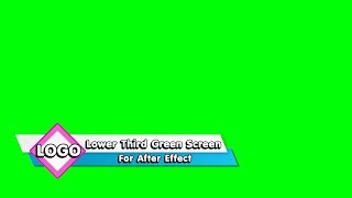 【Lower Third 4K】Video backgrounds Green Screen 4K  - Footage CGI VisualFX | Part 166
