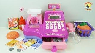 Кассовый аппарат - детский игровой набор для девочек / Cash register - Children