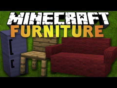 Minecraft 1.5.1 - Furniture Mod - Review - Stühle, Sofas, Tische uvm.