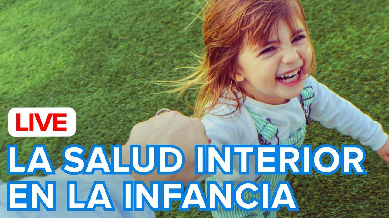 Cómo cuidar la salud interior de los niños
