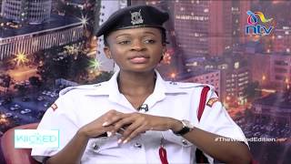'Nilishika mtu, akanipenda': Police officer shares experience in line of duty || The Wicked Edition