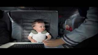 E-TRADE AIRPLANE BABY SUPER BOWL XLIV 2010 COMMERCIAL