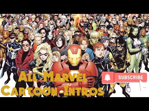 All Marvel Cartoon Intros