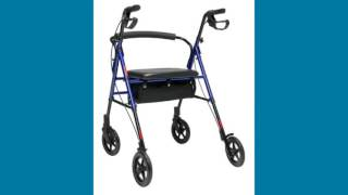 Lumex® Set N Go® Height Adjustable Rollator Youtube Video Link