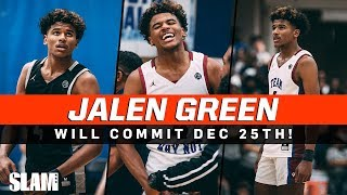 Where Should JALEN GREEN Hoop in College?! Committing on Dec 25th!