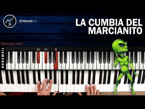 La Cumbia del Marcianito 100% Real | PIANO Tutorial | Notas Musicales | Cover