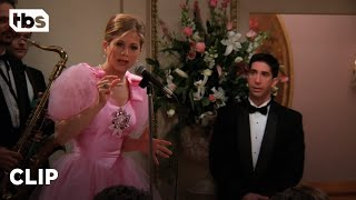 Friends: Rachel Attends Her Ex-Fiance's Wedding (Season 2 Clip) | TBS