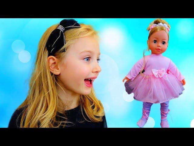 Говорящая кукла BAMBOLINA MOLLY - БАЛЕРИНА (украинский)