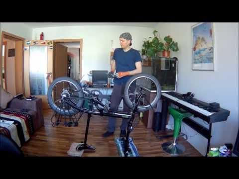 Faltrad Reparatur Vlog 1 - Einleitung - Reifen, Kette, Schaltwerkrollen