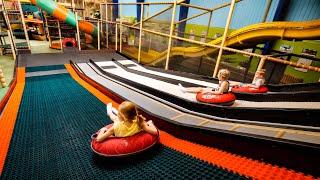 Indoor Playground Fun at Dinos Legeland
