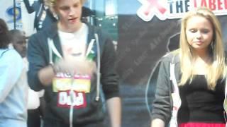 Алли Симпсон, Алли и Коди на встрече с фанатами:)