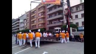 preview picture of video 'Fiesta de la Longaniza de Graus 2012'