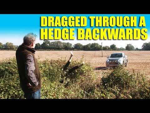 Dragged Through a Hedge Backwards