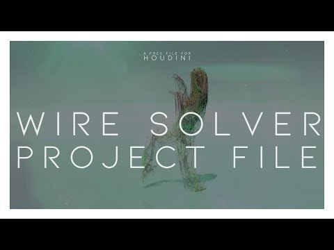 Houdini Wire Solvers - Plant simulation Part 2 - смотреть онлайн на