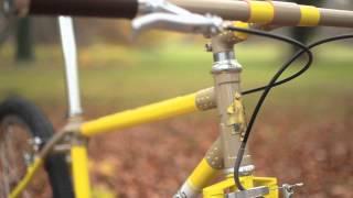Custom Lugged Single Speed Mountain Bike - English