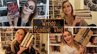 24 HOUR READATHON FAIL + EMPIRE OF STORMS 🔮Weekly Reading Vlog Oct. 8-14