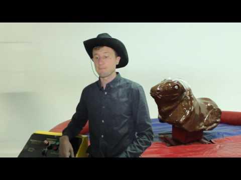 Відео Атракціон Родео на бику 1