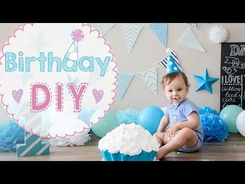 ★ DIY ★ Первый день рождения | Ребенку 1 год