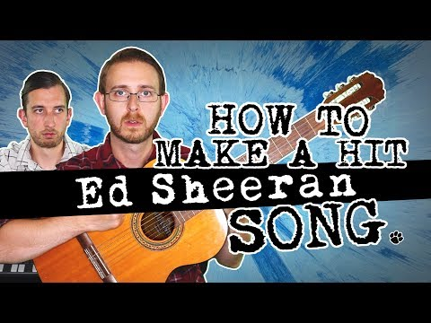 How To Make a Hit ED SHEERAN Song - Brett Domino