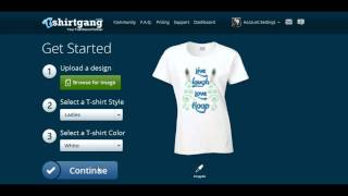 Make Money Online FREE. Make a shirt and post to Etsy in less than 2 mins with T-Shirt Gang!