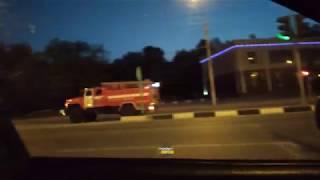 Новосибирск. Пожар на Берёзовой роще.