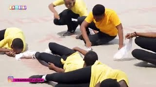 Medikal Omo Ada Dance Challenge Parents Vs Children... Funny & Interesting
