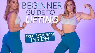 BEGINNER GYM GUIDE   Learn How To Lift + Free Program Inside!