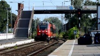 preview picture of video 'Rangsdorf - 27.07.2013 - Baustelle und dadurch Nadelöhr'