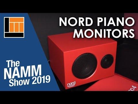 L&M @ NAMM 2019: Nord Piano Monitors