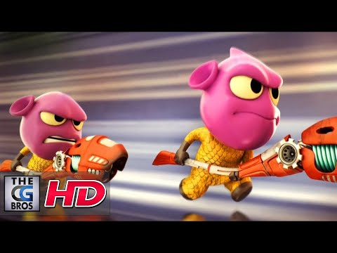 """CGI 3D Animated Short: """"The Gebonions: Episode 1"""" – by Aju Mohan"""