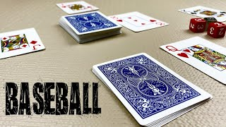 Baseball - Card Games