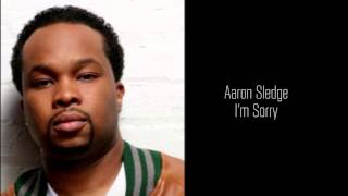 Aaron Sledge - I'm Sorry