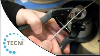 How to Cut Wire Rope using the TECNI 4mm Wire Rope and Cable Cutters