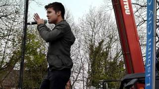 Lord Mayor's Show, Lisburn - Joe McElderry - Fahrenheit