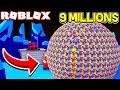 WORLDS BIGGEST BUBBLE ROBLOX BUBBLE GUM SIMULATOR