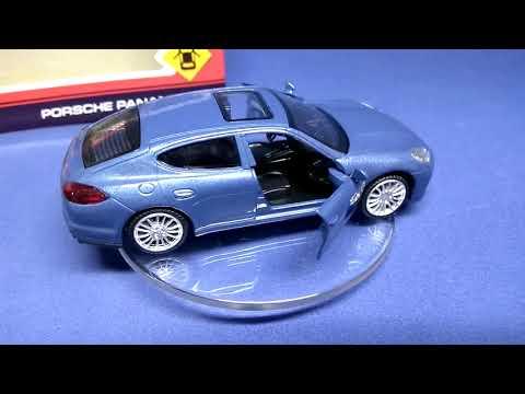 Porsche Panamera S - моделька в масштабе 3D обзор (Технопарк)