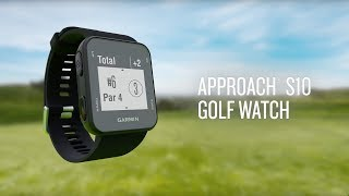 Garmin Approach® S10 Golf Watch: Know the Course