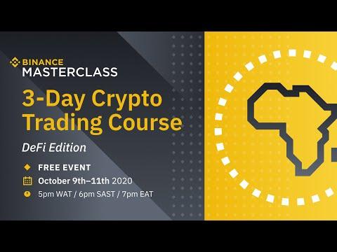 Binance Masterclass Africa 3-Day Crypto Trading Course (DeFi ...