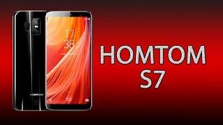 Смартфон HOMTOM S7 Silver от компании Cthp - видео